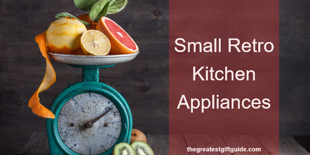 retro look kitchen appliances