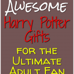 Harry Potter gifts for adults who aren't afraid to show their Harry Potter love.