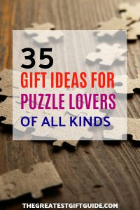 gift ideas for puzzle lovers